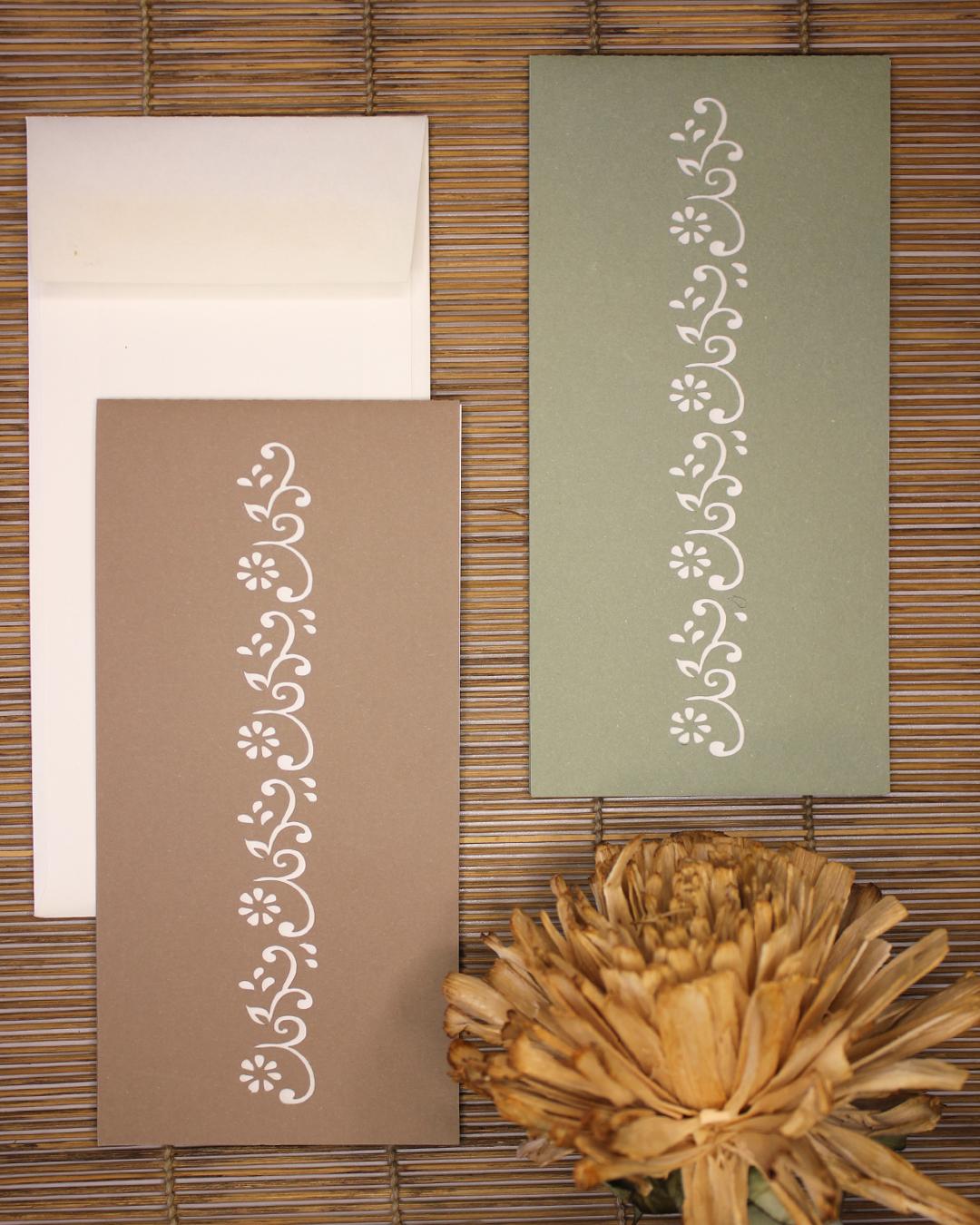 partecipazione wedding trepuntozero con carta forata stile giapponese